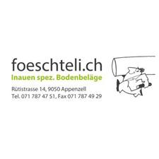 Föschteli Unterlagsböden Logo